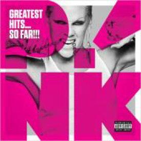 【送料無料】 P!nk (Pink) ピンク / Greatest Hits: So Far 輸入盤 【CD】
