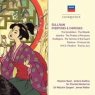 Sullivan サリバン / 序曲集、合唱曲集 ゴッドフリー&ロンドン新響、ウォーカー&ロイヤル・フィル、ドイリー・カート・オペラ・コーラス、他(2CD) 輸入盤 【CD】