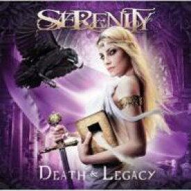【送料無料】 Serenity セレニティー / Death & Legacy 【CD】