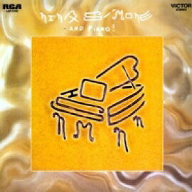Nina Simone ニーナシモン / And Piano (180グラム重量盤レコード) 【LP】