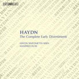 【送料無料】 Haydn ハイドン / 初期ディヴェルティメント全集 フス&ハイドン・シンフォニエッタ・ウィーン、スタンデイジ(5CD) 輸入盤 【CD】