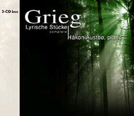 【送料無料】 Grieg グリーグ / 抒情小曲集 アウストボー(3CD) 輸入盤 【CD】