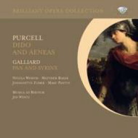 Purcell パーセル / パーセル:『ディドーとエネアス』、ガリアード:『パンとシリンクス』 ヴェンツ&ムジカ・アド・レーヌム、ゾマー、ウェミス、他(2CD) 輸入盤 【CD】
