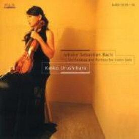 【送料無料】 Bach, Johann Sebastian バッハ / 無伴奏ヴァイオリンのためのソナタとパルティータ全曲 漆原啓子(2CD) 【CD】