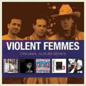 【送料無料】 Violent Femmes / 5cd Original Album Series Box Set 輸入盤 【CD】
