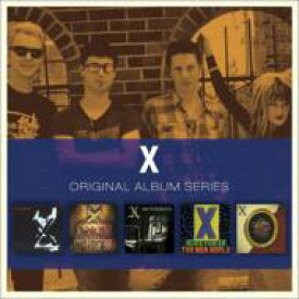 【送料無料】 X / 5cd Original Album Series Box Set 輸入盤 【CD】