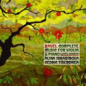 【送料無料】 Ravel ラベル / ラヴェル:ヴァイオリンとピアノのための作品全集、ルクー:ヴァイオリン・ソナタ イブラギモヴァ、ティベルギアン 輸入盤 【CD】