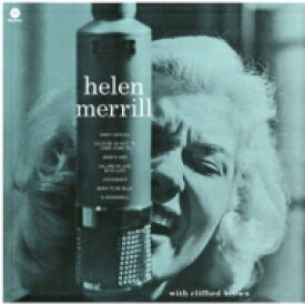 Helen Merrill ヘレンメリル / With Clifford Brown (180グラム重量盤レコード / waxtime) 【LP】