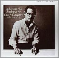 Bill Evans (Piano) ビルエバンス / Sunday At Village Vanguard (アナログレコード / OJC) 【LP】