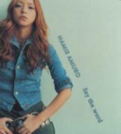 安室奈美恵 / Say the word 【CD Maxi】