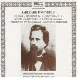 【送料無料】 ポンキエッリ(1834-1886) / Orchestral Works Symphonies 輸入盤 【CD】