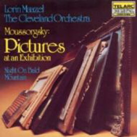 Mussorgsky ムソルグスキー / Pictures At An Exhibition, Etc: Maazel / Cleveland O 輸入盤 【CD】