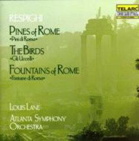Respighi レスピーギ / Pini Di Roma, Fontane Di Roma, Gli Uccelli Lane / Atlanta.so 輸入盤 【CD】