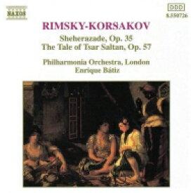 Rimsky-korsakov リムスキー=コルサコフ / シェエラザード、『サルタン皇帝の物語』組曲 バティス&フィルハーモニア管弦楽団 輸入盤 【CD】