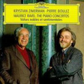 Ravel ラベル / ピアノ協奏曲、左手のためのピアノ協奏曲 ツィマーマン、ブーレーズ&クリーヴランド管、ロンドン響 輸入盤 【CD】