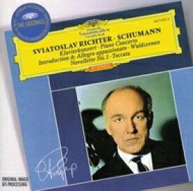 Schumann シューマン / ピアノ協奏曲、森の情景、他 リヒテル(p)ロヴィツキ&ワルシャワ国立フィル 輸入盤 【CD】