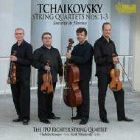 【送料無料】 Tchaikovsky チャイコフスキー / 弦楽四重奏曲第1番〜第3番、『フィレンツェの思い出』 イスラエル・フィル・リヒター弦楽四重奏団、ラトゥシュ、ミハノフスキー(2CD) 輸入盤 【CD】