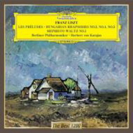 Liszt リスト / 交響詩『前奏曲』、ハンガリー狂詩曲第2番、第4番、第5番、メフィスト・ワルツ第1番 カラヤン&ベルリン・フィル 【CD】