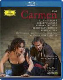 Bizet ビゼー / 『カルメン』全曲 エア演出、ガランチャ、アラーニャ、ネゼ=セガン&メトロポリタン歌劇場(2010 ステレオ) 【BLU-RAY DISC】