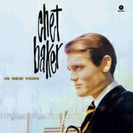 Chet Baker チェットベイカー / In New York (180グラム重量盤レコード) 【LP】