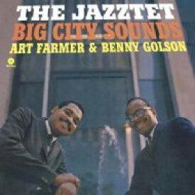 Art Farmer / Benny Golson / Jazztet / Big City Sounds (アナログレコード / waxtime) 【LP】