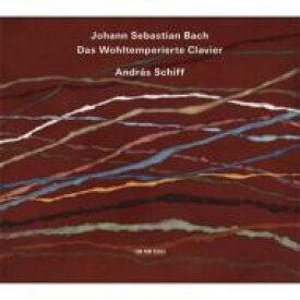 【送料無料】 Bach, Johann Sebastian バッハ / 平均律クラヴィーア曲集全曲 アンドラーシュ・シフ(2011)(4CD) 輸入盤 【CD】