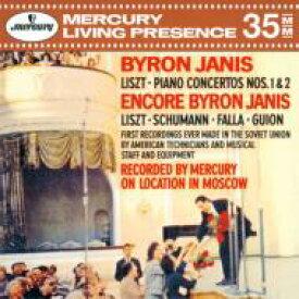 Liszt リスト / ピアノ協奏曲第1番、第2番、ハンガリー狂詩曲第6番、他 バイロン・ジャニス、コンドラシン&モスクワ・フィル、ロジェストヴェンスキー&モスクワ放送響 【CD】
