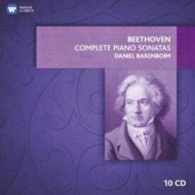 【送料無料】 Beethoven ベートーヴェン / ピアノ・ソナタ全集 バレンボイム(1966−1969)(10CD限定盤) 輸入盤 【CD】
