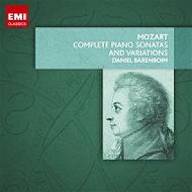 【送料無料】 Mozart モーツァルト / ピアノ・ソナタ全集&変奏曲集 バレンボイム(8CD限定盤) 輸入盤 【CD】