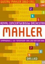 【送料無料】 Mahler マーラー / 交響曲全集 コンセルトヘボウ管弦楽団(11BD) 【BLU-RAY DISC】