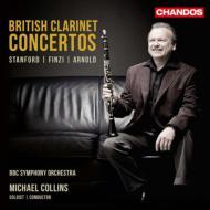 【送料無料】 『イギリスのクラリネット協奏曲集〜スタンフォード、フィンジ、アーノルド』 M.コリンズ、BBC響 輸入盤 【CD】