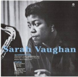 Sarah Vaughan サラボーン / With Clifford Brown (180グラム重量盤レコード / waxtime) 【LP】