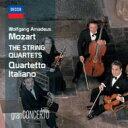 【送料無料】 Mozart モーツァルト / 弦楽四重奏曲全集 イタリア四重奏団(8CD) 輸入盤 【CD】