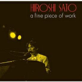 佐藤博 / ゴールデン☆ベスト 佐藤博 a fine piece of work 【CD】
