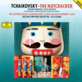 【送料無料】 Tchaikovsky チャイコフスキー / 『くるみ割り人形』全曲、『眠りの森の美女』組曲 小澤征爾&ボストン交響楽団(2CD) 【CD】