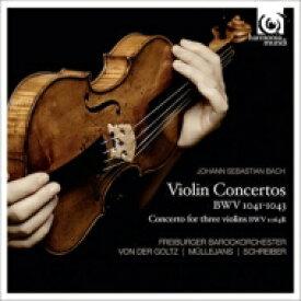 【送料無料】 Bach, Johann Sebastian バッハ / ヴァイオリン協奏曲集 ミュレヤンス、フォン・デア・ゴルツ、フライブルク・バロック・オーケストラ 輸入盤 【CD】
