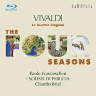 【送料無料】 Vivaldi ヴィヴァルディ / ヴァイオリン協奏曲集『四季』 フランチェスキーニ、ブリツィ&イ・ソリスティ・ディ・ペルージャ(ブルーレイ・オーディオ) 【BLU-RAY AUDIO】