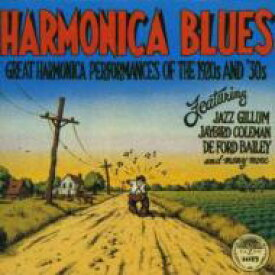 Harmonica Blues / Great Harmonica Performances Of The 1920's & 30's 【LP】