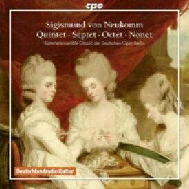 ノイコム、ジギスムント(1778-1858) / 九重奏曲、八重奏曲、七重奏曲第3番、夜想曲、他 ベルリン・ドイツ・オペラ室内アンサンブル 輸入盤 【CD】