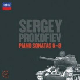 Prokofiev プロコフィエフ / ピアノ・ソナタ第6番、第7番、第8番 アシュケナージ(1993−94) 輸入盤 【CD】