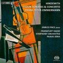 【送料無料】 Hindemith ヒンデミット / ヴァイオリン協奏曲、ヴァイオリン・ソナタ集 フランク・ペーター・ツィンマ…