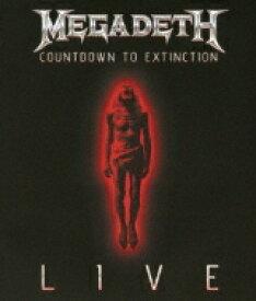Megadeth メガデス / Countdown To Extinction: Live: 破滅へのカウントダウン: 20周年記念ライヴ 【BLU-RAY DISC】