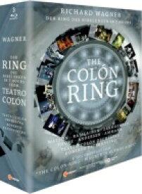 【送料無料】 Wagner ワーグナー / 『ニーベルングの指環』(短縮版) カラスコ演出、パーテルノストロ&コロン劇場、ラシライネン、L.ワトソン、他(2012 ステレオ)(3BD)(日本語字幕付) 【BLU-RAY DISC】