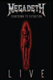 Megadeth メガデス / Countdown To Extinction: Live 【BLU-RAY DISC】
