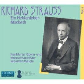 【送料無料】 Strauss, R. シュトラウス / 『英雄の生涯』、『マクベス』 ヴァイグレ&フランクフルト歌劇場管弦楽団 輸入盤 【CD】