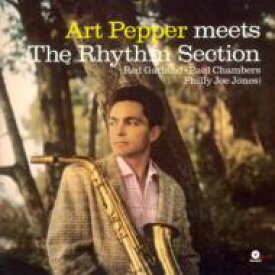Art Pepper アートペッパー / Meets The Rhythm Section (180グラム重量盤レコード / waxtime) 【LP】