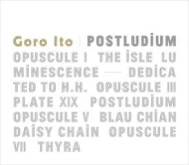 【送料無料】 伊藤ゴロー / Postludium 【CD】