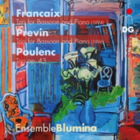 【送料無料】 ピアノ、オーボエ、ファゴットのための三重奏曲集〜プーランク、プレヴィン、フランセ アンサンブル・ブルーミナ 輸入盤 【SACD】