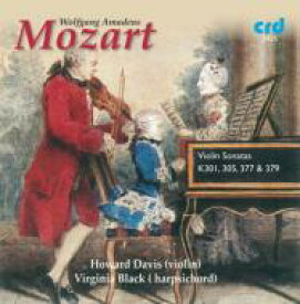 Mozart モーツァルト / Violin Sonata, 25, 29, 33, 35, : Howard Davis(Vn) Virginia Black(Cemb) 輸入盤 【CD】