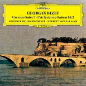 Bizet ビゼー / 『カルメン』組曲、『アルルの女』第1組曲、第2組曲 カラヤン&ベルリン・フィル(1970) 【SHM-CD】